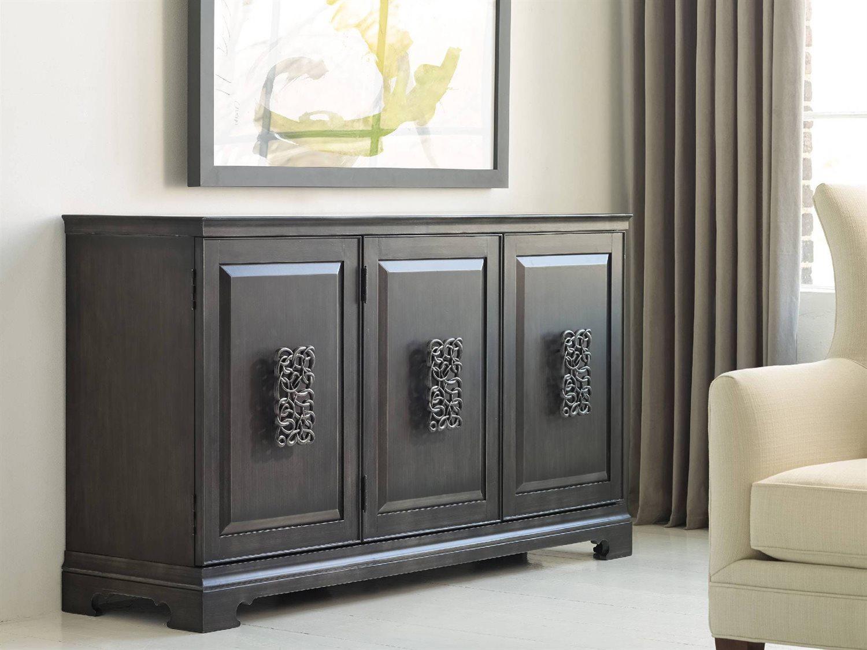 Hooker Furniture Melange Charcoal Gray 64''l X 18''w Rectangular Brockton Credenza Buffet For Most Popular Melange Brockton Sideboards (View 3 of 20)