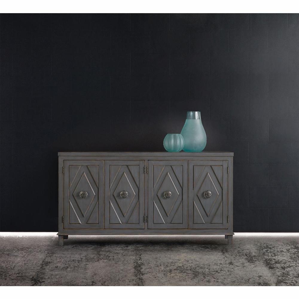 Hooker Furniture – Melange Raellen Console – 638 85159 With Regard To Newest Melange Brockton Sideboards (View 14 of 20)