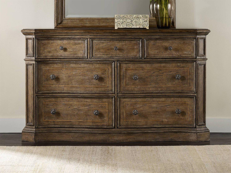 Hooker Furniture Solana Light Wood Double Dresser Intended For Latest Solana Sideboards (#9 of 20)