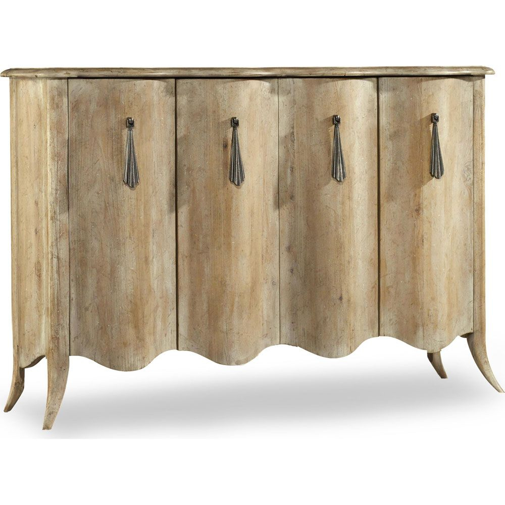 Hooker Melange Draped Credenza | Beautiful Furniture In Most Up To Date Elyza Credenzas (#10 of 20)
