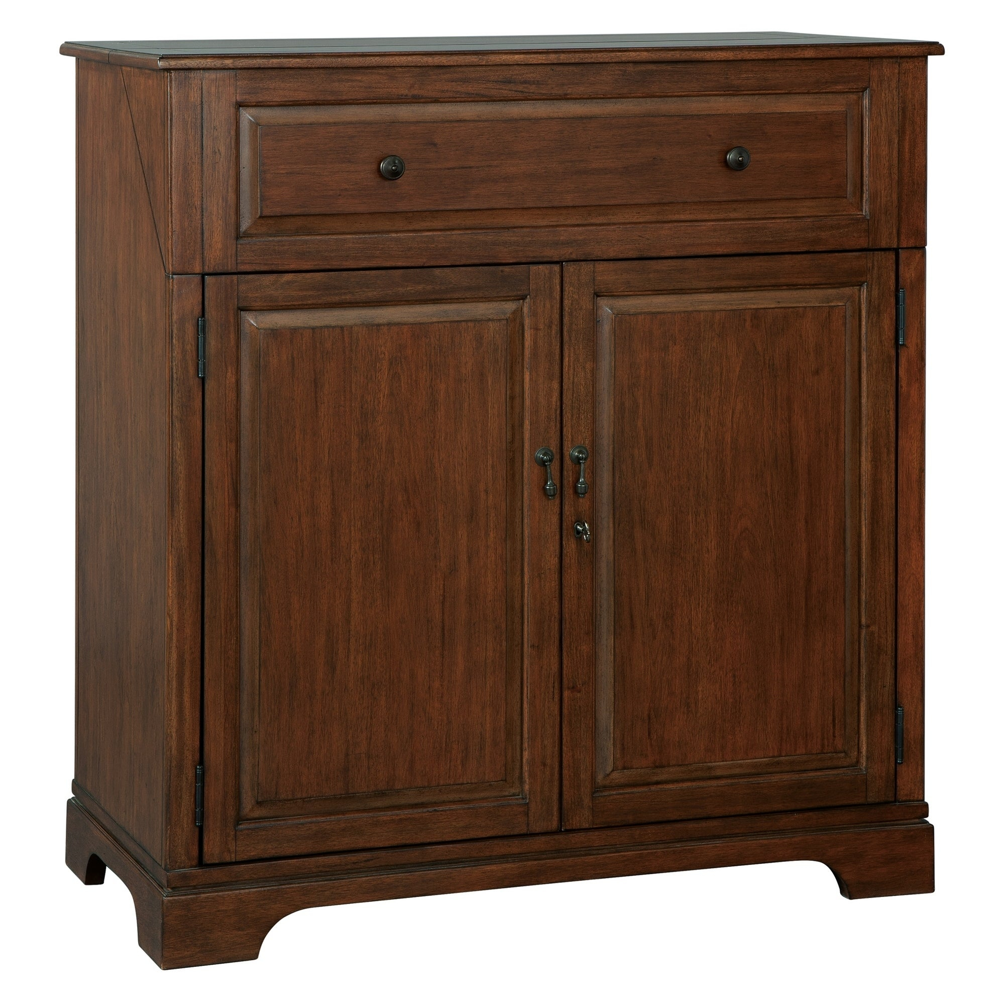 Howard Miller Good Cheer Contemporary, Sleek, Transitional Style, Foyer  Liquor Or Wine Cabinet, Sideboard, Or Media Cabinet Within Best And Newest Upper Stanton Sideboards (#10 of 20)