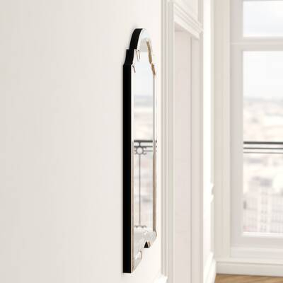 Hub Floor Mirror & Reviews | Allmodern With Ekaterina Arch/crowned Top Wall Mirrors (#19 of 20)