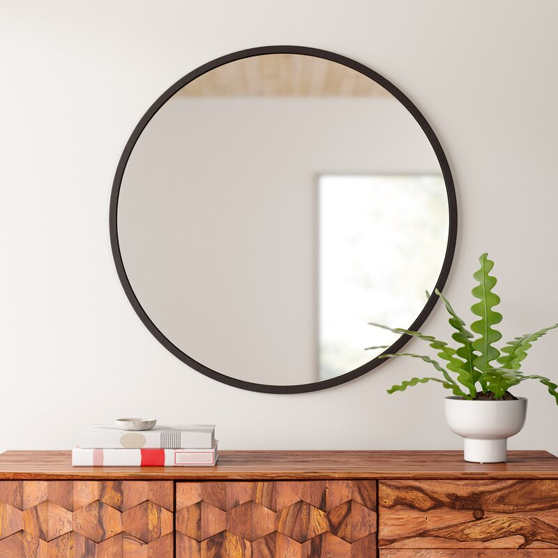 Hub Modern And Contemporary Accent Mirror Regarding Hub Modern And Contemporary Accent Mirrors (#15 of 20)