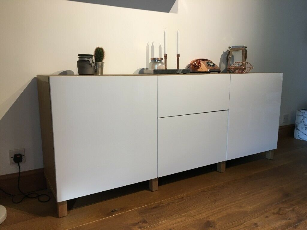 Inspiration about Ikea Besta Sideboard 180Cm (L) X 41.5Cm (W) X 72Cm (H), £125 | In Morley,  West Yorkshire | Gumtree Pertaining To Best And Newest Sayles Sideboards (#17 of 20)