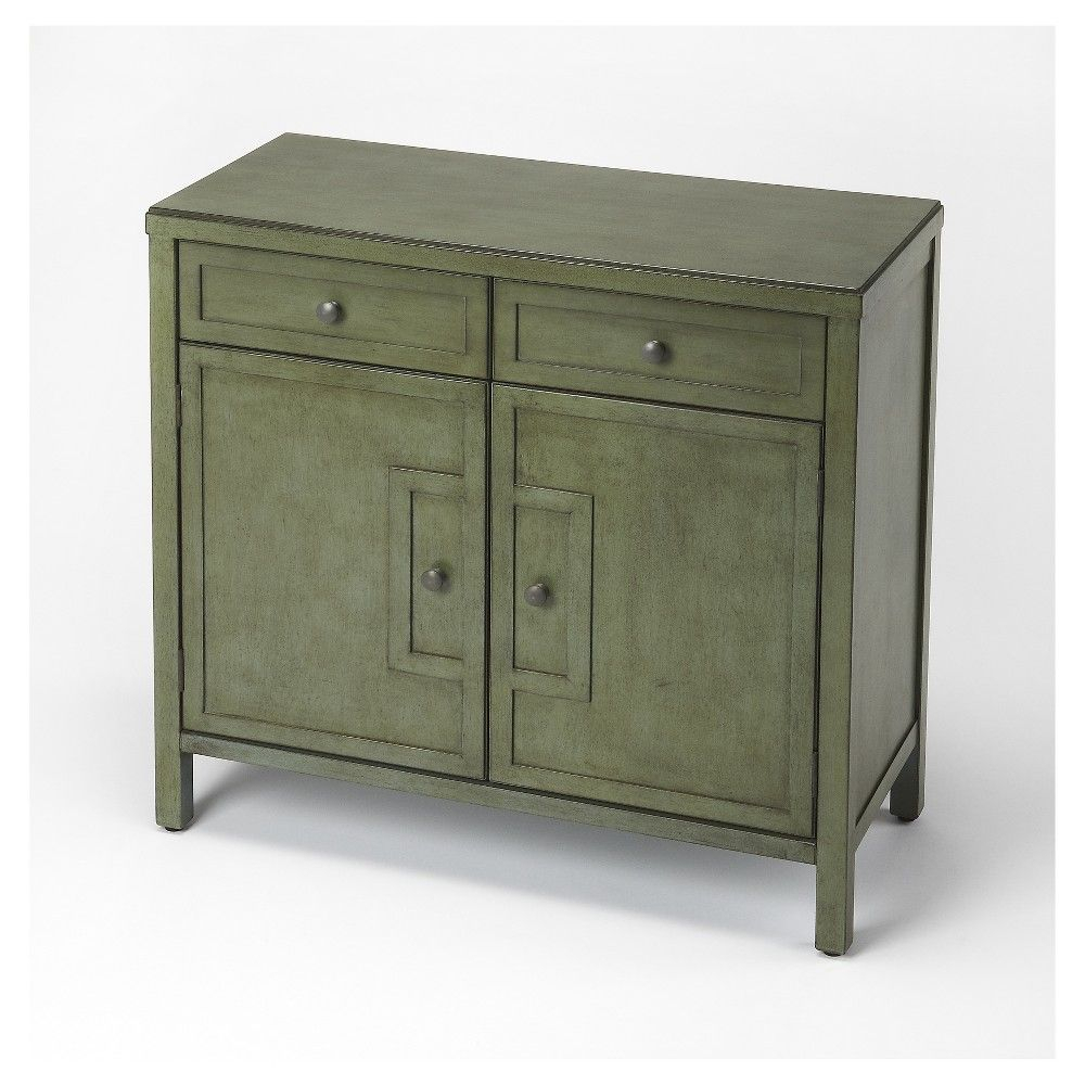 Imperial Green Console Cabinet – Butler Loft – Butler Throughout Current Raunds Sideboards (View 16 of 20)