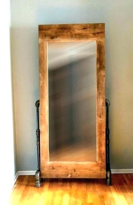 Inspiration about Industrial Floor Length Mirror – Buildactive.co Within Industrial Full Length Mirrors (#8 of 20)