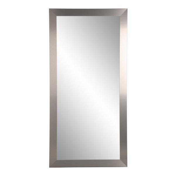 Industrial Modern Home Accent Floor Mirror With Regard To Industrial Full Length Mirrors (#16 of 20)