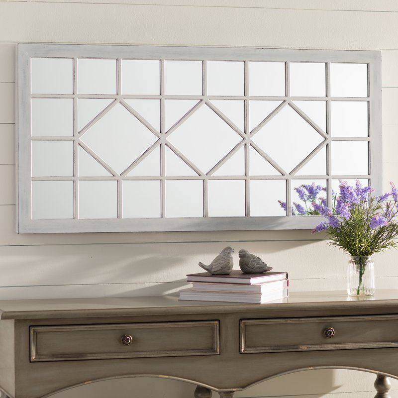 Ivory Wall Mirror | Dining Room Redo Ideas | Mirror Throughout Polito Cottage/country Wall Mirrors (#11 of 20)