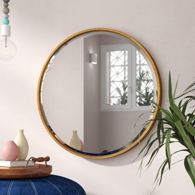 Jamie Modern & Contemporary Beveled Wall Mirror In Modern & Contemporary Beveled Wall Mirrors (View 3 of 20)