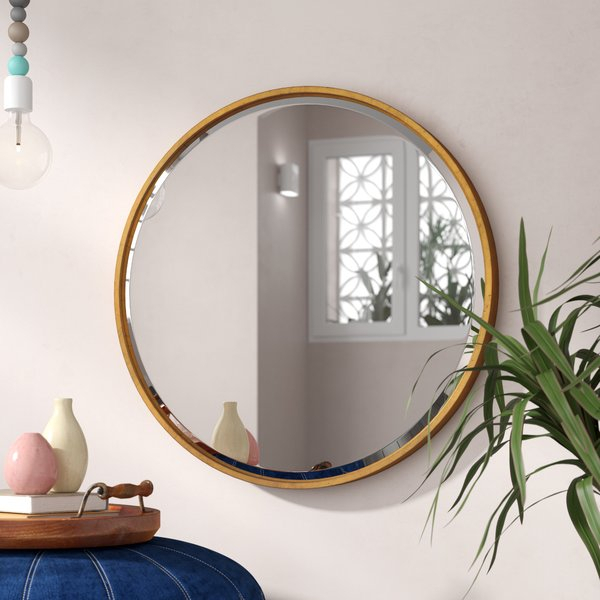 Jamie Modern & Contemporary Beveled Wall Mirror Throughout Colton Modern & Contemporary Wall Mirrors (#16 of 20)