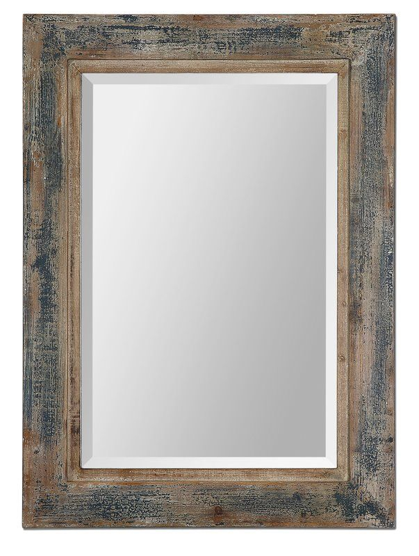 Janie Rectangular Wall Mirror | New Home Ideas | Blue Framed Regarding Janie Rectangular Wall Mirrors (#14 of 20)
