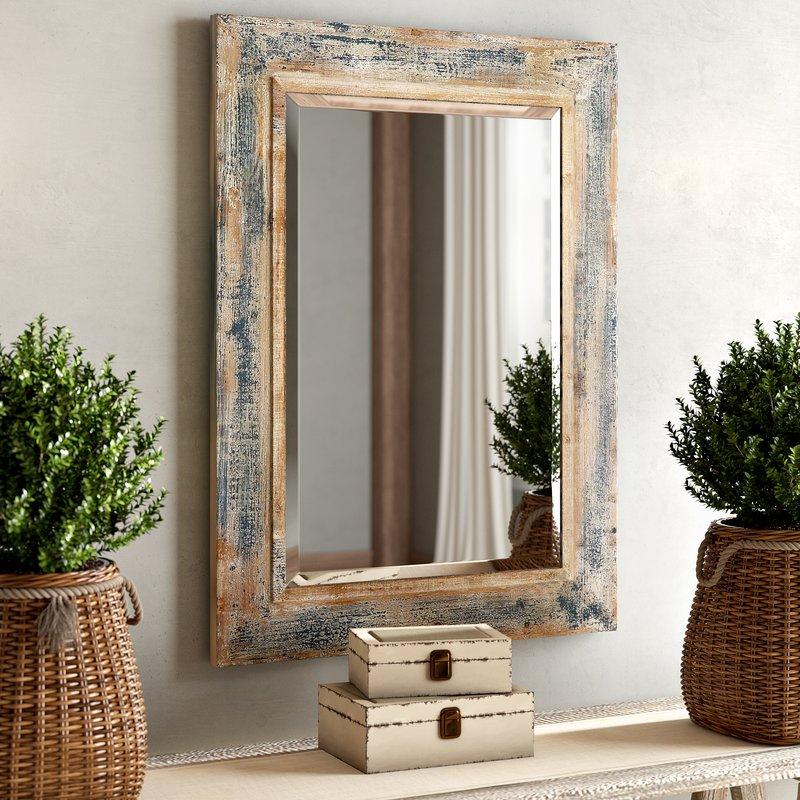 Janie Rectangular Wall Mirror Pertaining To Janie Rectangular Wall Mirrors (#7 of 20)
