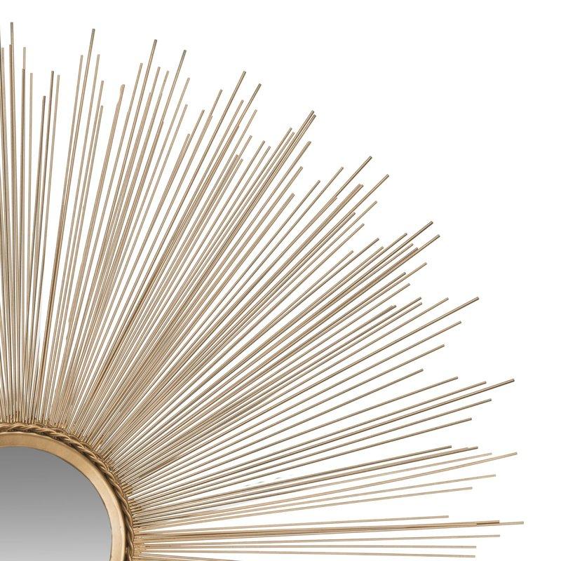 Jarrod Sunburst Accent Mirror Pertaining To Jarrod Sunburst Accent Mirrors (#11 of 20)