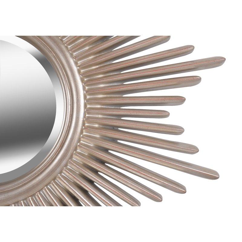 Josephson Starburst Glam Beveled Accent Wall Mirror In Josephson Starburst Glam Beveled Accent Wall Mirrors (#5 of 20)