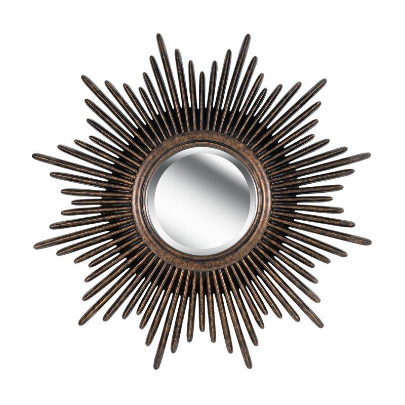Josephson Starburst Glam Beveled Accent Wall Mirror Regarding Josephson Starburst Glam Beveled Accent Wall Mirrors (#11 of 20)