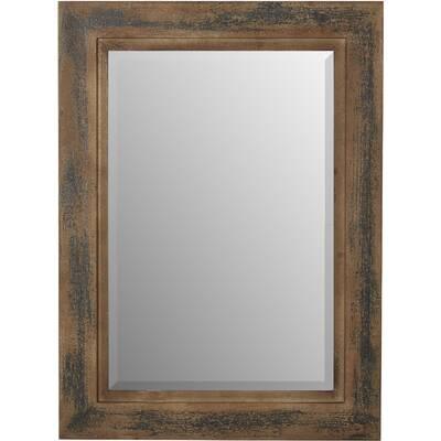 Jute Rectangular Mirror | Birch Lane For Janie Rectangular Wall Mirrors (#16 of 20)