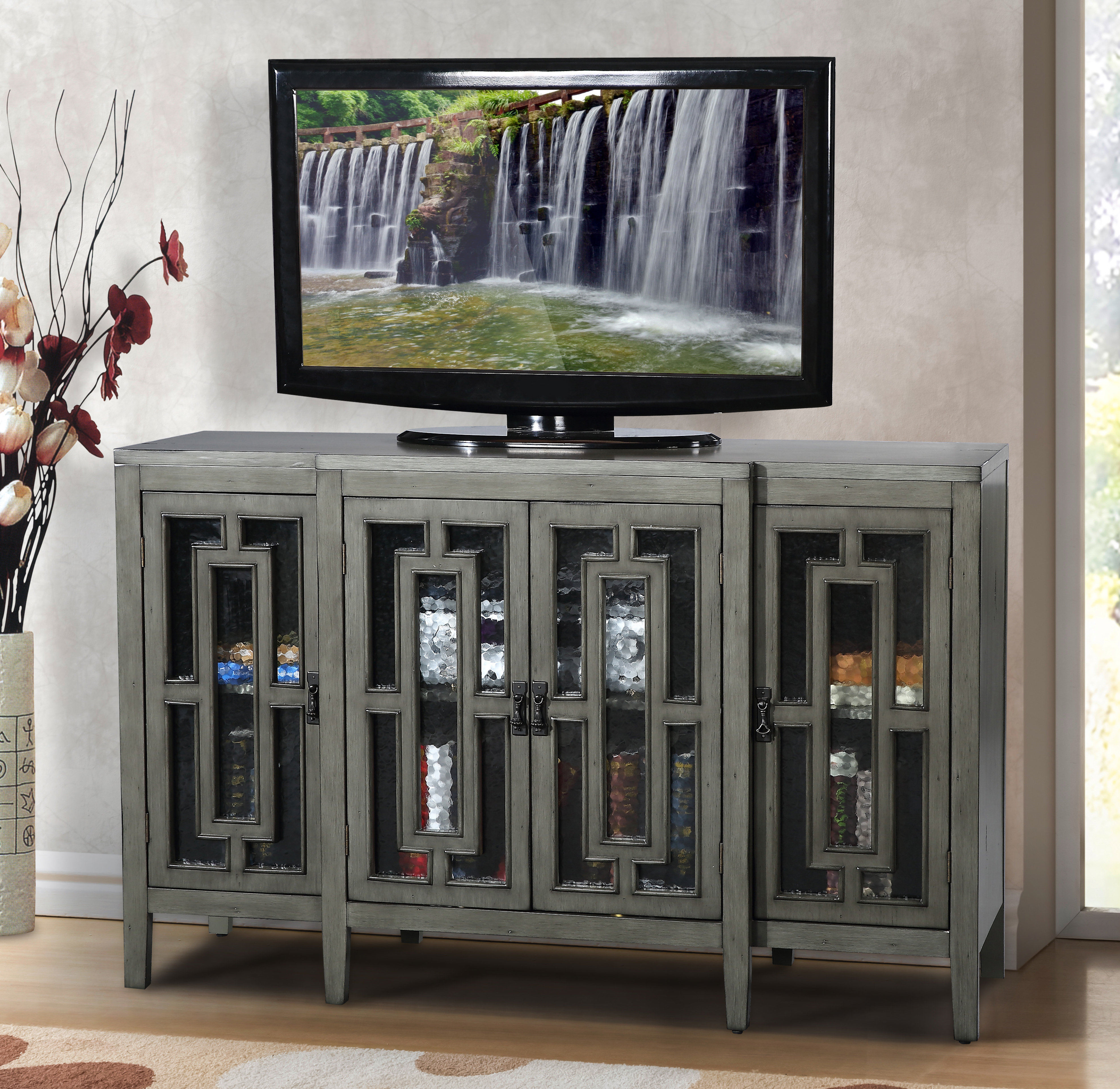 """Kandice Tv Stand For Tvs Up To 70"""" Within Most Recently Released Parmelee Tv Stands For Tvs Up To 65"""" (#9 of 20)"""