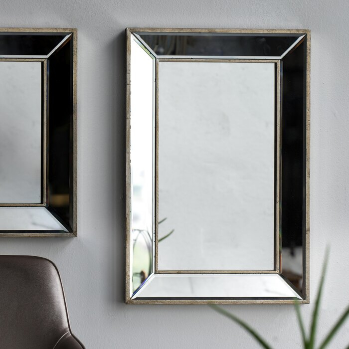 Kapp Rectangle Accent Wall Mirror Inside Rectangle Accent Wall Mirrors (View 3 of 20)