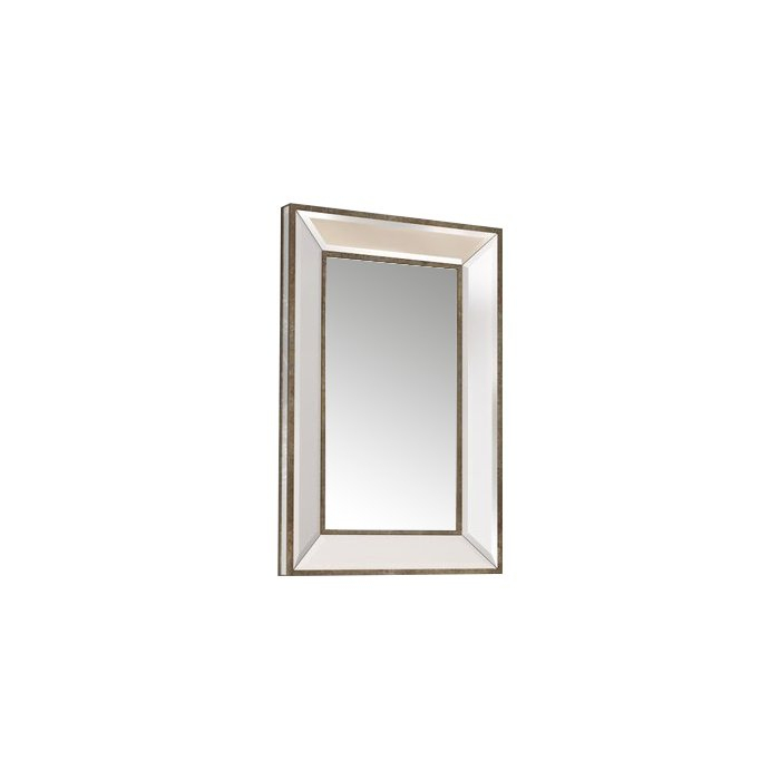 Kapp Rectangle Accent Wall Mirror Inside Rectangle Accent Wall Mirrors (View 7 of 20)