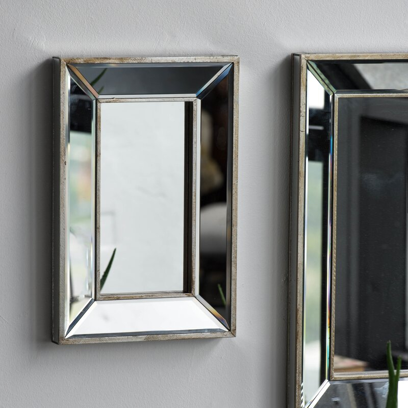 Kapp Rectangle Accent Wall Mirror Pertaining To Rectangle Accent Wall Mirrors (View 5 of 20)