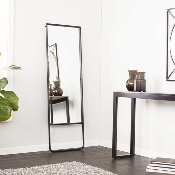 Karcher Leaning Full Length Mirror For Dalessio Wide Tall Full Length Mirrors (#13 of 20)