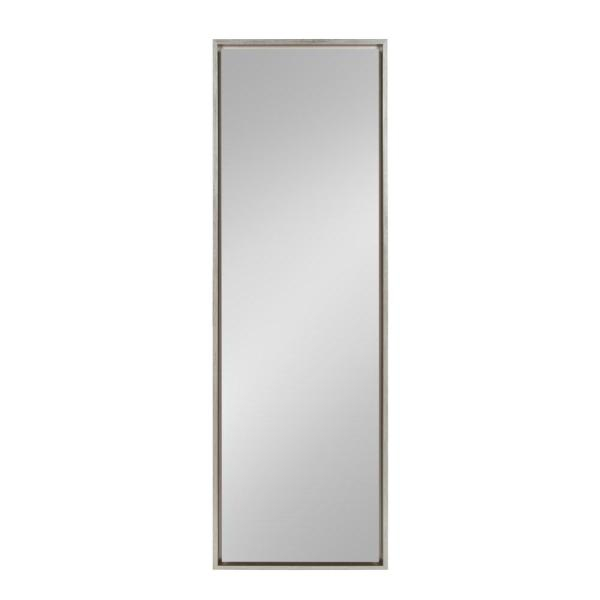 Kate And Laurel Evans Rectangle Silver Leaning Mirror 212891 Pertaining To Leaning Mirrors (#11 of 20)