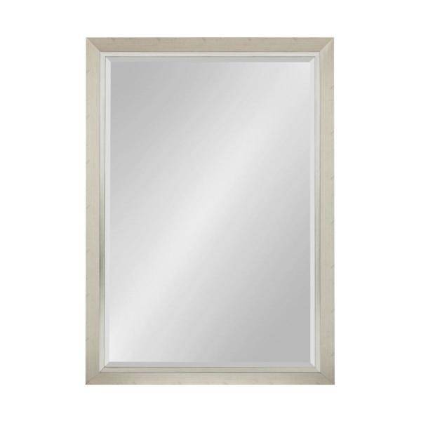 Kate And Laurel Lohman Rectangle Silver Accent Mirror 212998 Intended For Rectangle Accent Mirrors (#12 of 20)