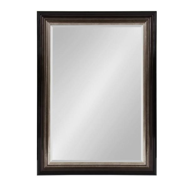 Kate And Laurel Rivard Rectangle Bronze Accent Mirror 213008 Pertaining To Rectangle Accent Mirrors (#13 of 20)