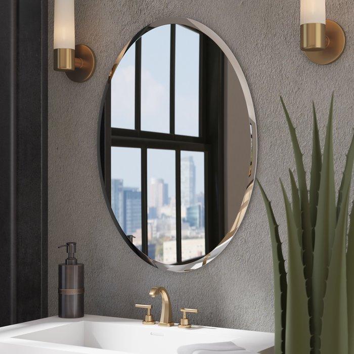 Kayden Bathroom Mirror Inside Kayden Accent Mirrors (#15 of 20)
