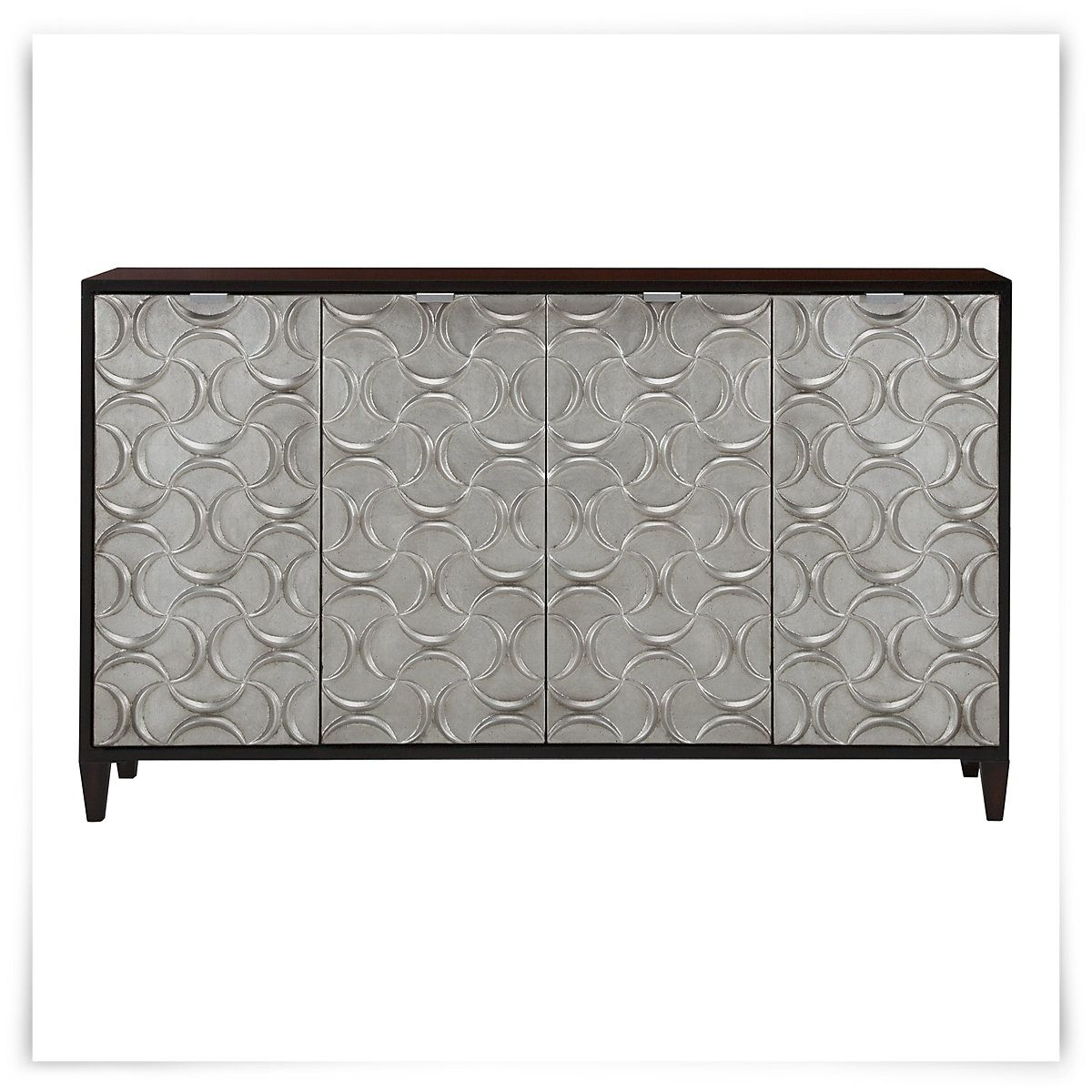 Kellan Silver Credenza | It's So Pretty!! | Credenza For Most Recent Ethelinda Media Credenzas (#14 of 20)