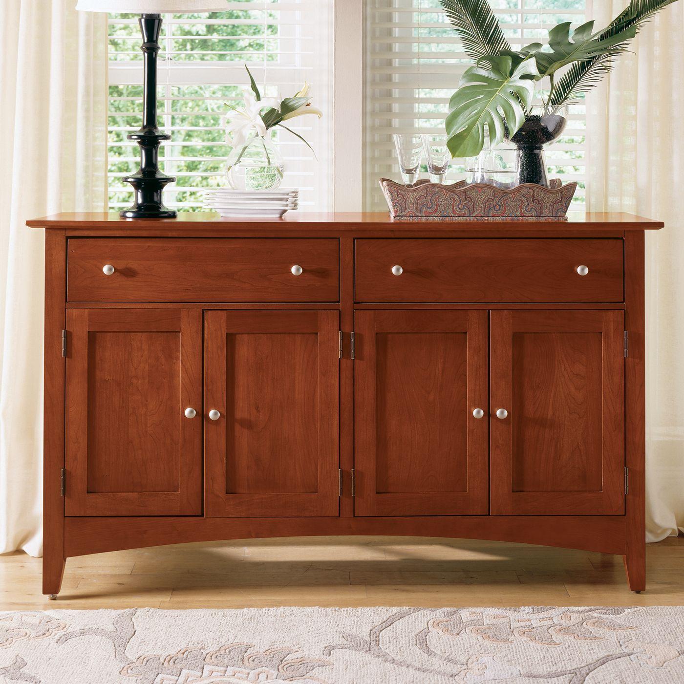 Kincaid Furniture 43 090 Gathering House Sideboard, Satin Regarding Newest Nashoba Sideboards (View 13 of 20)