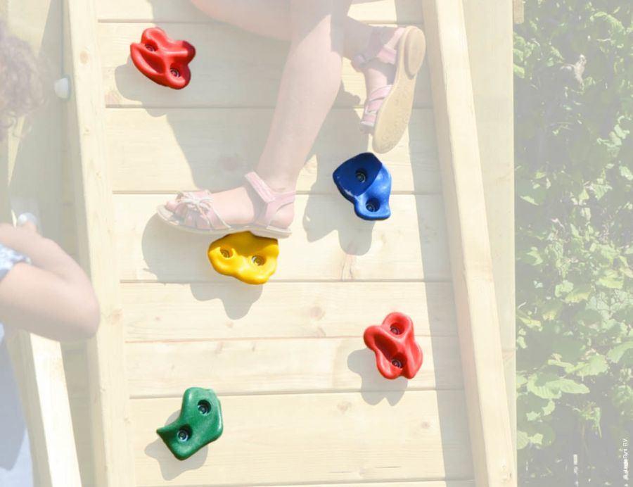 Kletterwand • Ohne Holzpaket Within Hallas Wall Organizer Mirrors (View 12 of 20)