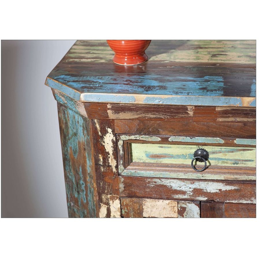 Kommode South Holz Bunt B 70 T 40 H 76 Cm Trendiges Design Pertaining To Most Current South Miami Sideboards (#8 of 20)