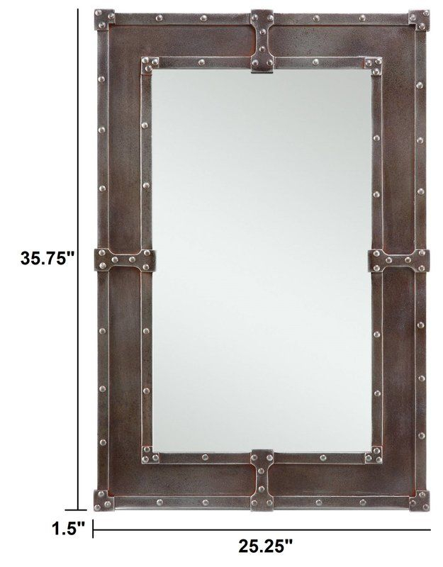 Lamare Mirror | Hoh Foyer In 2019 | Mirror, Floor Mirror, Wall For Kristy Rectangular Beveled Vanity Mirrors In Distressed (#17 of 20)
