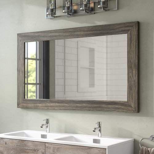 Landover Rustic Distressed Bathroom/vanity Mirror | Products Inside Landover Rustic Distressed Bathroom/vanity Mirrors (#14 of 20)