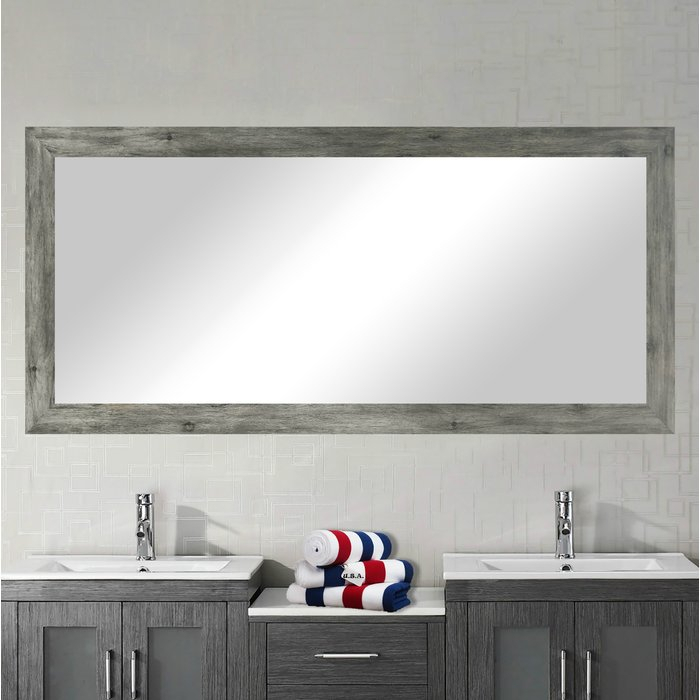 Inspiration about Landover Rustic Distressed Bathroom/vanity Mirror With Regard To Landover Rustic Distressed Bathroom/vanity Mirrors (#1 of 20)
