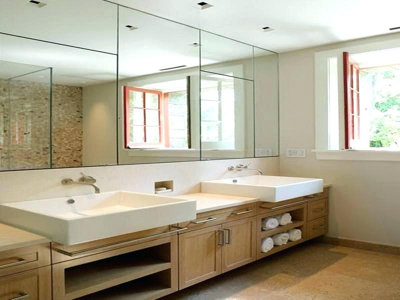 Large Frameless Bathroom Mirrors – Ratlove With Wallingford Large Frameless Wall Mirrors (#7 of 20)