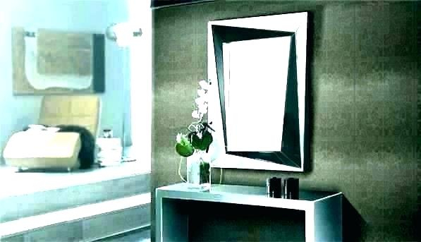 Large Frameless Wall Mirror Heights Wallingford – Jinevijoya (#8 of 20)