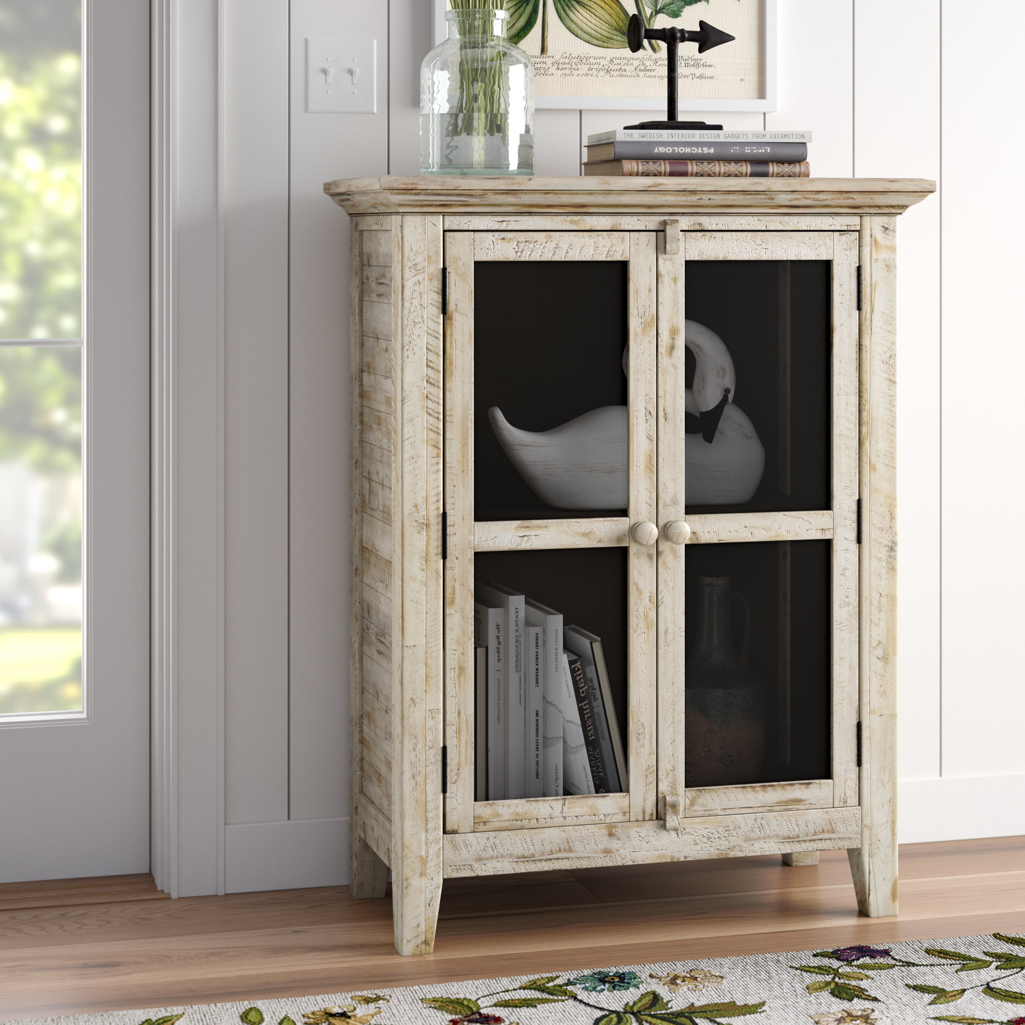 Lark Manor Eau Claire 2 Door Accent Cabinet With Regard To Most Recent Eau Claire 6 Door Accent Cabinets (View 7 of 20)