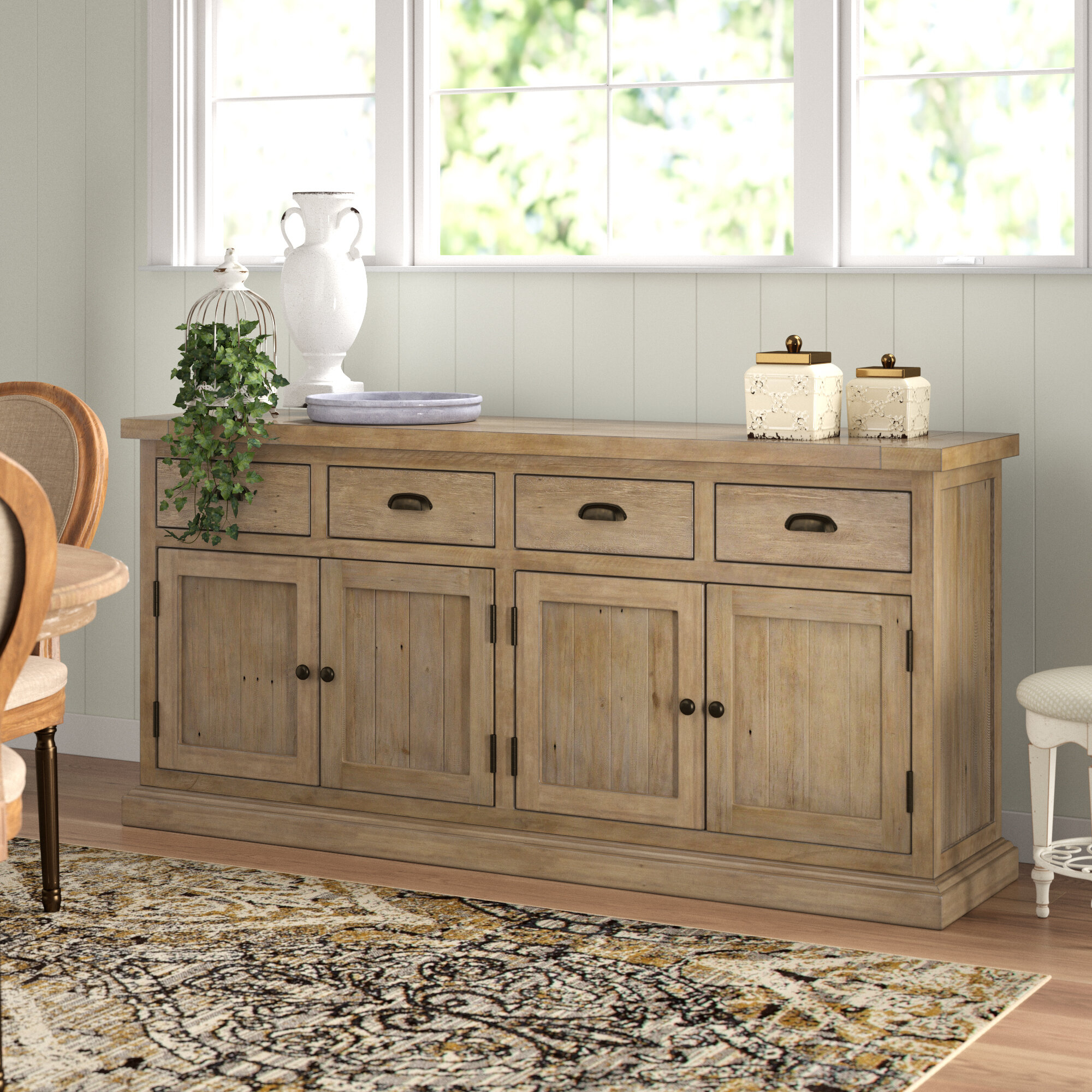 Lark Manor Gertrude Sideboard & Reviews   Wayfair Within Best And Newest Gertrude Sideboards (View 3 of 20)