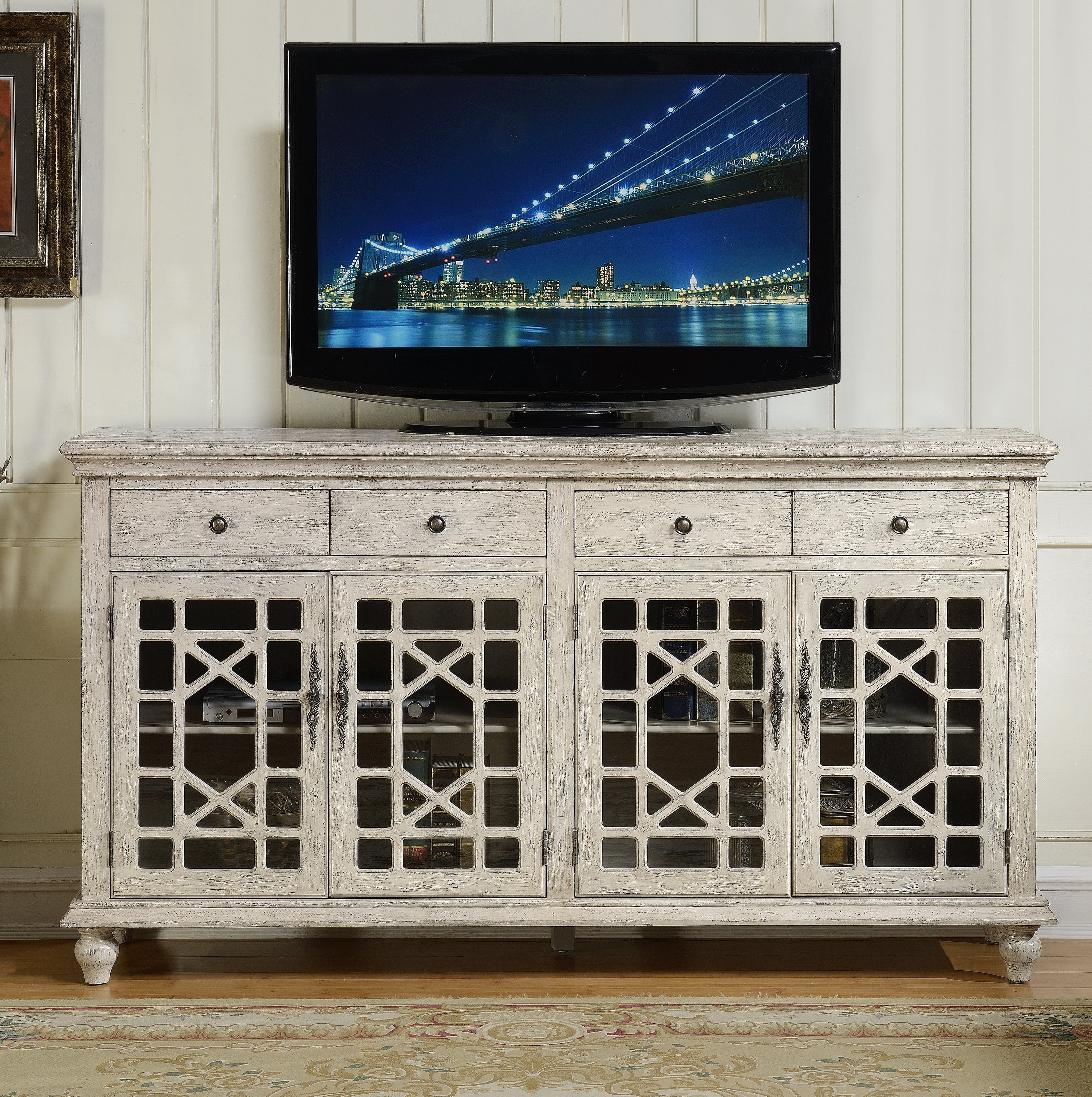 """Lark Manor Mauldin Tv Stand For Tvs Up To 75"""" & Reviews Inside Newest Colefax Vintage Tv Stands For Tvs Up To 78"""" (#11 of 20)"""