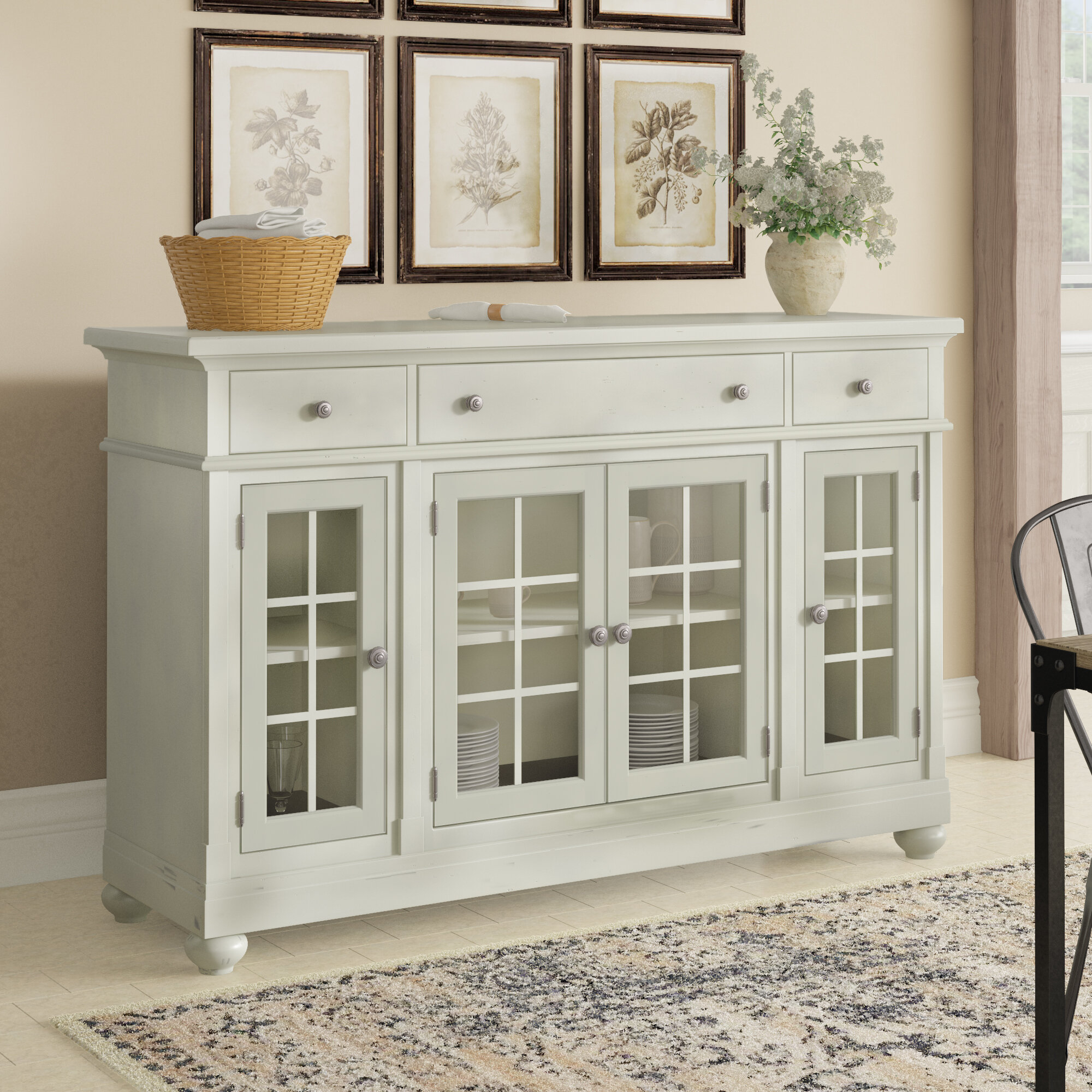 Inspiration about Lark Manor Saguenay Sideboard Throughout Recent Saguenay Sideboards (#8 of 20)