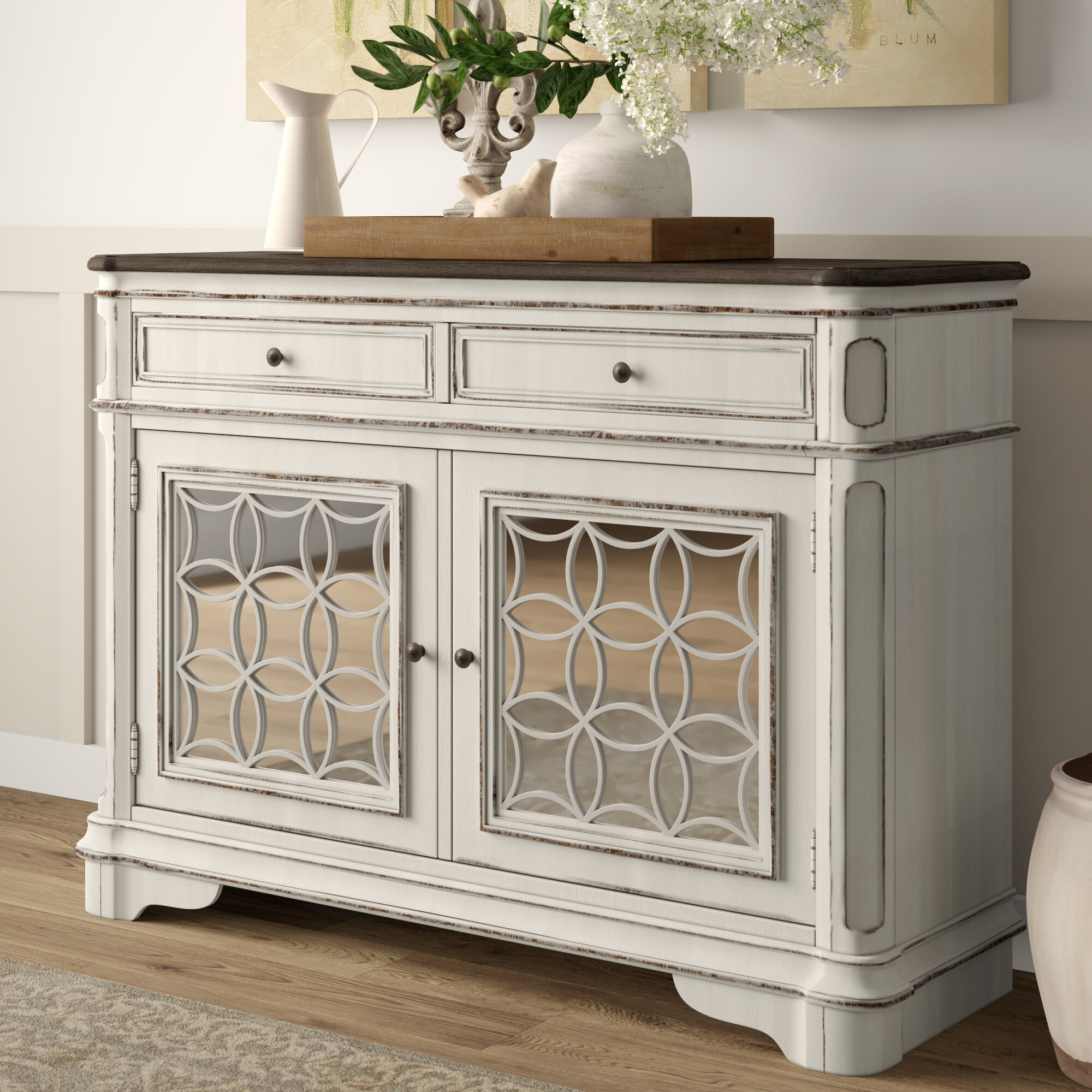Lark Manor Tiphaine Sideboard With Most Popular Tiphaine Sideboards (View 9 of 20)