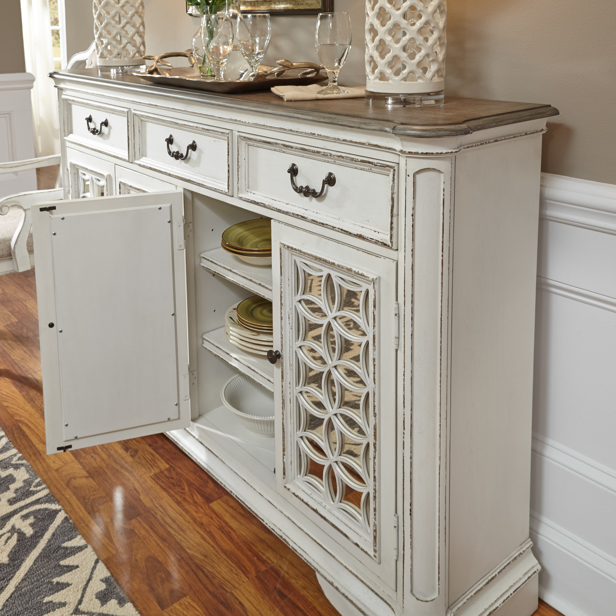 Lark Manor Tiphaine Sideboard With Regard To Recent Tiphaine Sideboards (View 10 of 20)