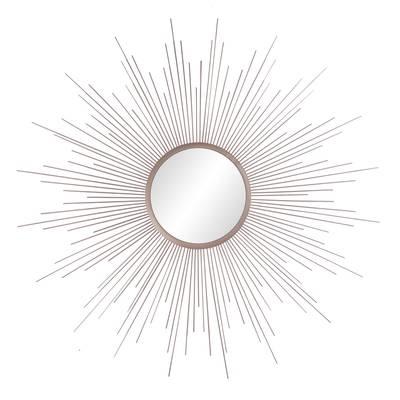 Lathan Rays Sunburst Accent Mirror For Jarrod Sunburst Accent Mirrors (#17 of 20)