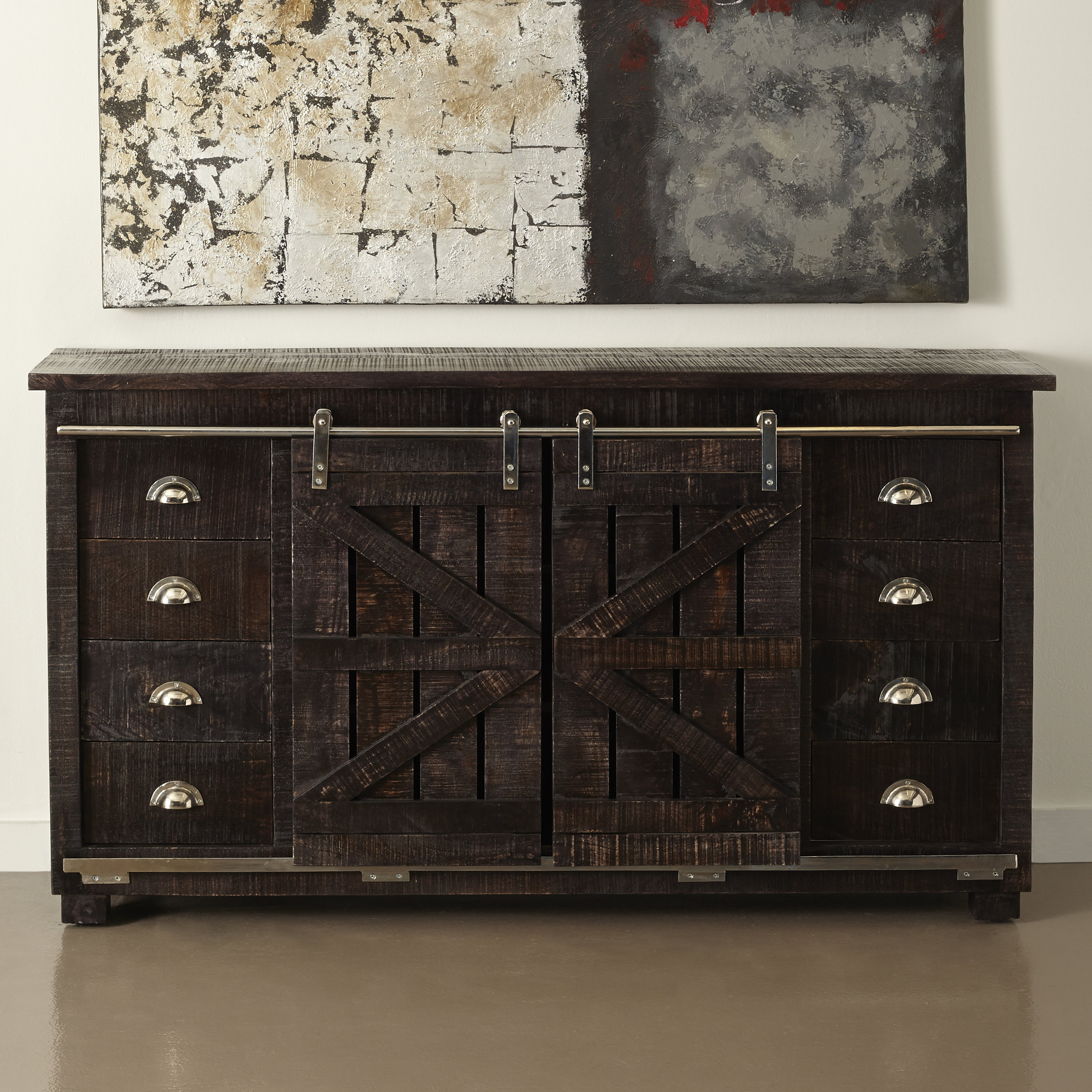 Laurel Foundry Modern Farmhouse Deana Credenza Inside Most Recently Released Deana Credenzas (#14 of 20)