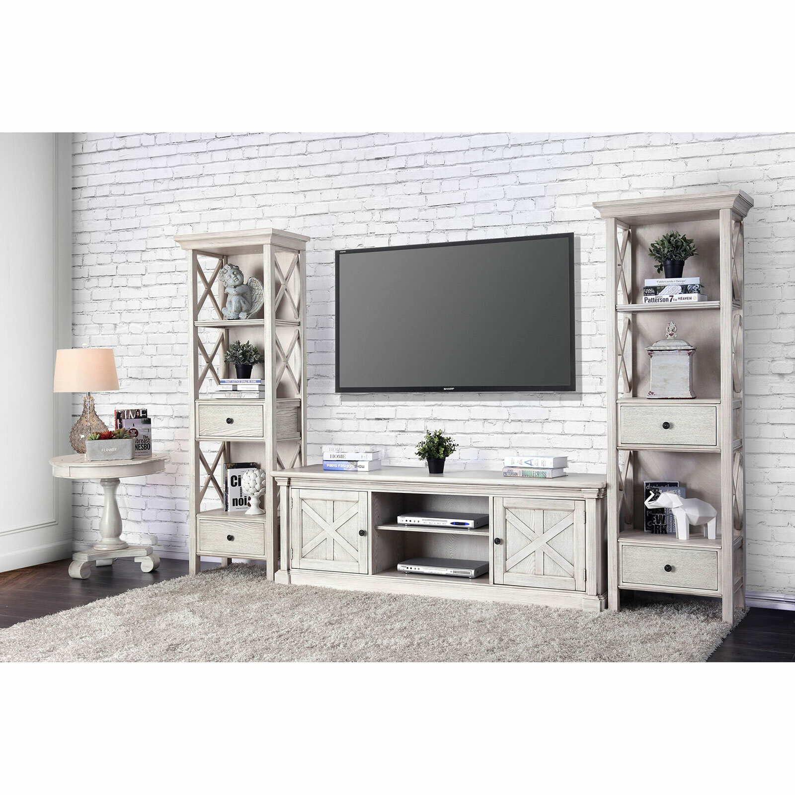 """Leandra Tv Stand For Tvs Up To 70"""" Intended For Recent Parmelee Tv Stands For Tvs Up To 65"""" (#11 of 20)"""
