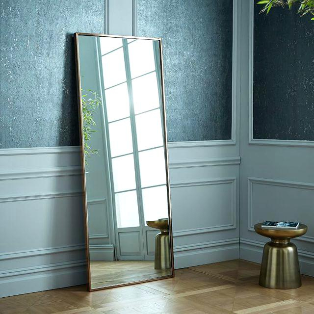 Leaning Wall Mirror – Realfreshcookin In Leaning Mirrors (#16 of 20)