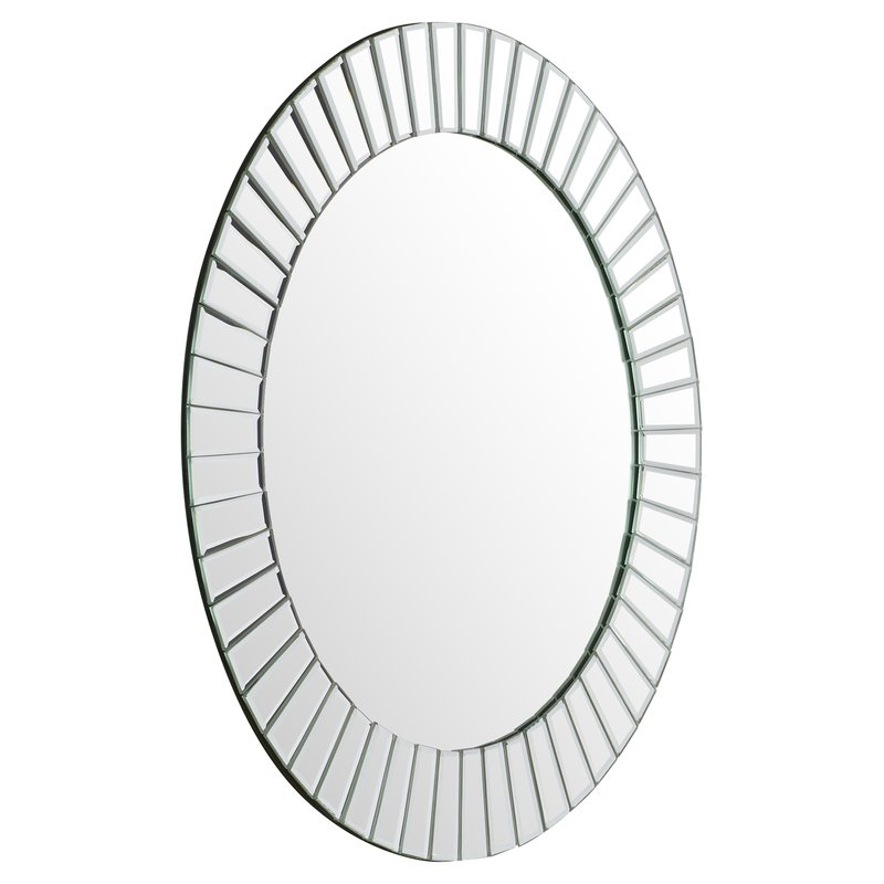 Lidya Frameless Beveled Wall Mirror With Regard To Lidya Frameless Beveled Wall Mirrors (#10 of 20)