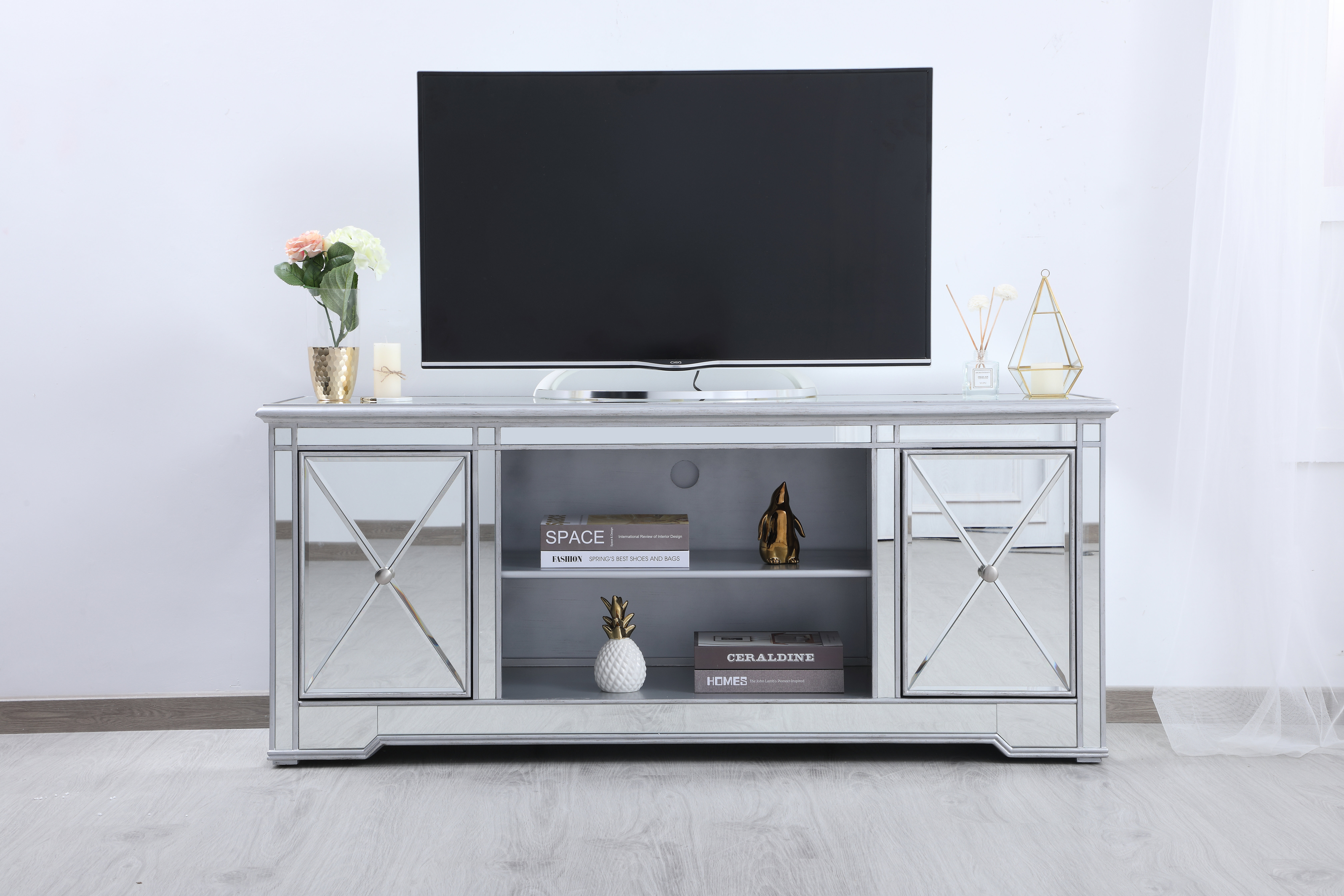 """Lilianna Tv Stand For Tvs Up To 60"""" In Recent Parmelee Tv Stands For Tvs Up To 65"""" (#12 of 20)"""
